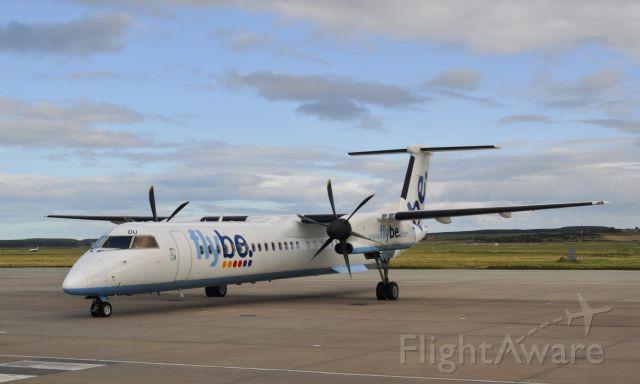 de Havilland Dash 8-400 (G-JEDU) - Flybe De Havilland Canada DHC-8-402Q Dash 8 G-JEDU in Inverness