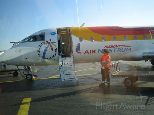 Canadair Regional Jet CRJ-200 (EC-IJE) - At Nice Apt