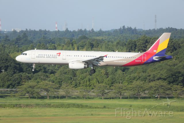 Airbus A321 (HL8278)