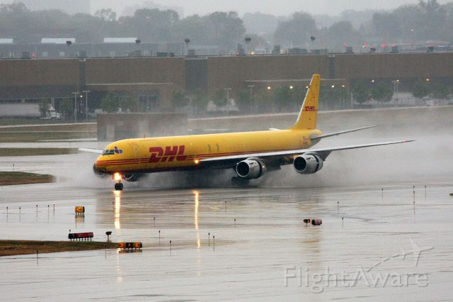— — - DHL cargo landing on 12R