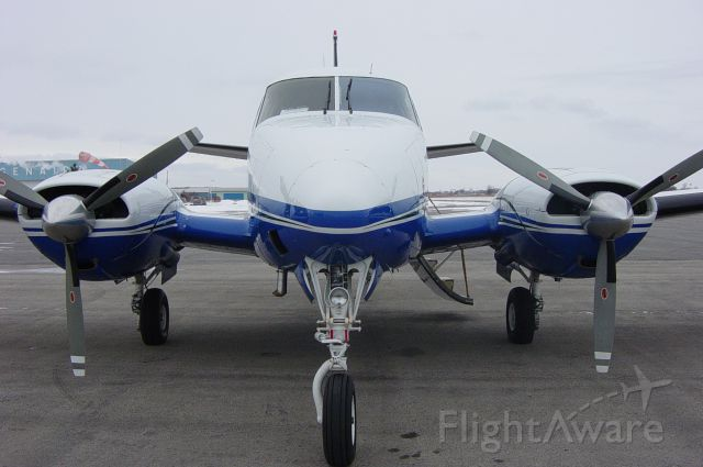 Beechcraft Queen Air (65) (C-FBOY) - The BOY