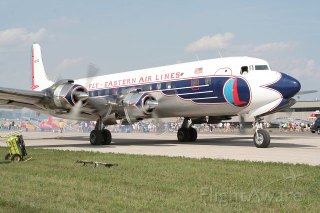 Douglas DC-7 (N836D) - Photographed 07-08-2010 at the Thunder over Michigan airshow.