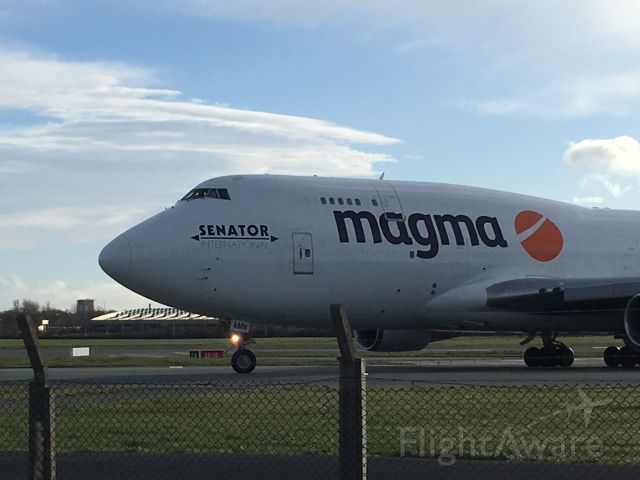 Boeing 747-400 (TF-AMP) - Rare sight, 747 at Dublin airport 10/2/2019