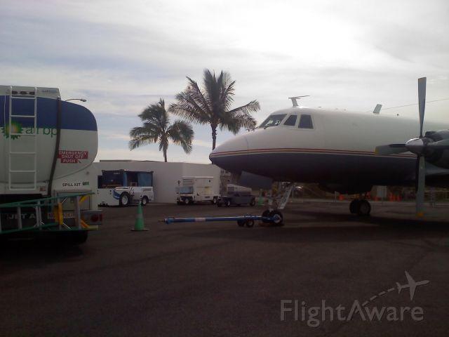 Grumman Gulfstream 1 (N8E)