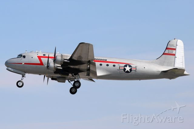 Douglas C-54 Skymaster (N500EJ) - Spirit of Freedom, a 1945 Douglas C-54E, owned by The Berlin Airlift Historical Foundation, seen on 15 Jul 2019.