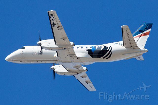VH-SBA — - Rex airlines SAAB 340 departing Adelaide
