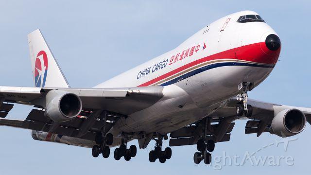 Boeing 747-400 (B-2428) - Cargo King Two Thirty Three Heavy, approaching runway nine right, Atlanta.
