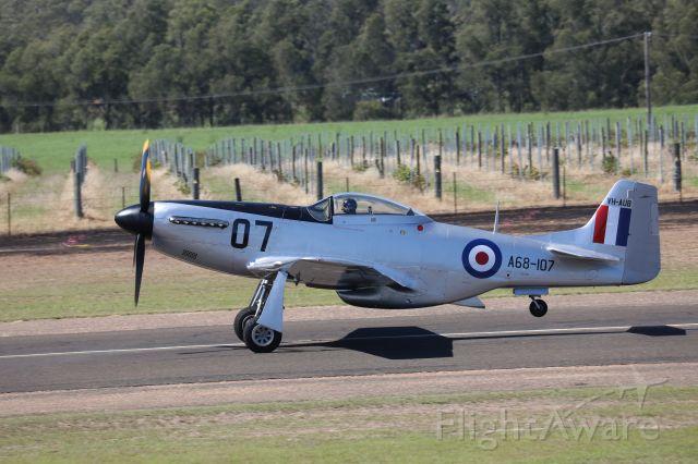 North American P-51 Mustang (VH-AUB) - Cessnock Airshow