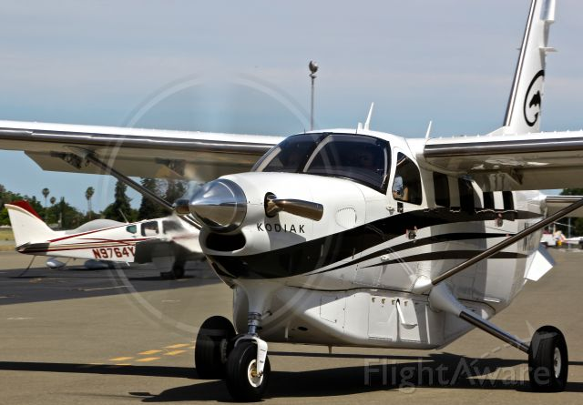 Quest Kodiak (N112KQ) - Rare visitor taxing out with a full 360 prop blur! One of my favorite photos I