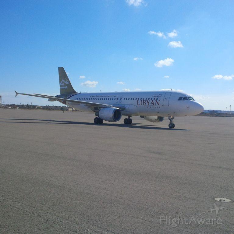 Airbus A320 (5A-LAP) - Libyan Airlines <br />CNS/ATM Unit<br />ICT Department