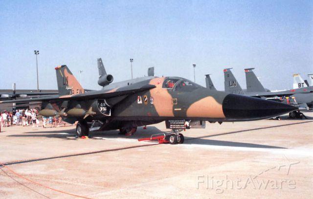 — — - General Dynamics F-111F