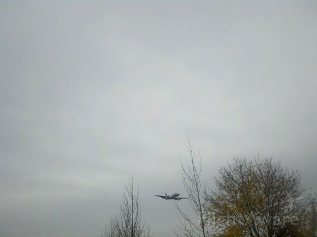Cessna Citation II (N600AT) - Out by the shed 2:45 PM 10-25-12
