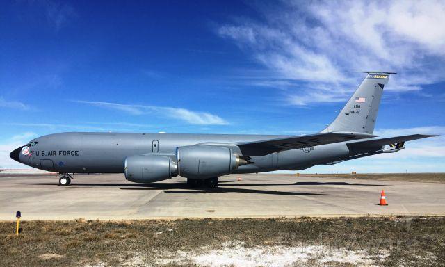 Boeing C-135FR Stratotanker (63-8876) - KC-135R from Alaska ANG.
