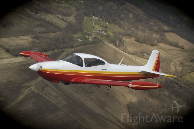 North American Navion (N5357K) - Formation flight with a Beechcraft A36