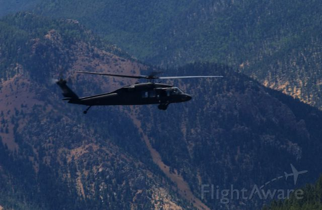 — — - Colorado National Guard Helicopter