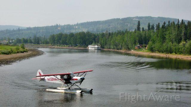 N1324A — - 1951 Piper PA-18-125 Super Cub, Fairbanks-Alaska
