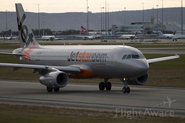Airbus A320 (VH-VGF)