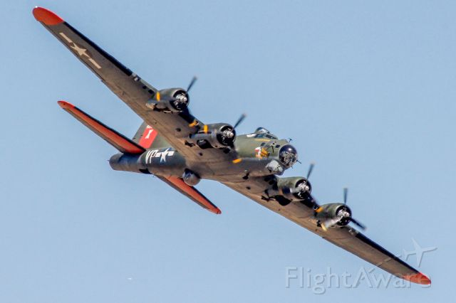 """Boeing B-17 Flying Fortress (N7227C) - B-17 Flying Fortress """"Texas Raiders"""" S/N 44-83872, one of the last surviving B-17's."""