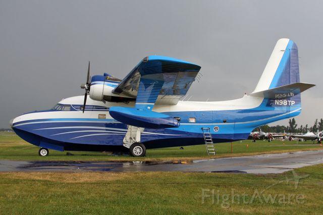 Grumman HU-16 Albatross (N98TP) - Just after a heavy rainshower.