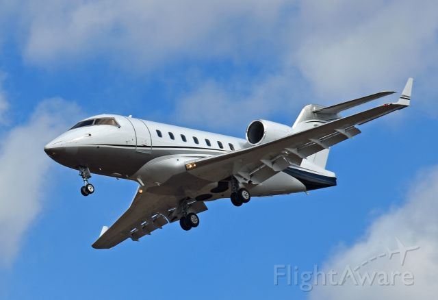 Canadair Challenger (C-FDDD) - 2005 Bombardier CL-600-2B16 Challenger 604 (C-FDDD/5609) arriving at Peterborough Airport (CYPQ) from Calgary International Airport (CYYC) on March 14, 2021