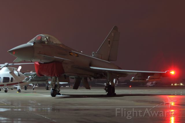 — — - On static display during Northolt Night Shoot.