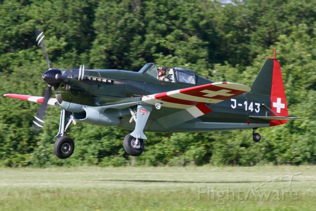 HB-RCF — - Moran-Saulnier MS-406