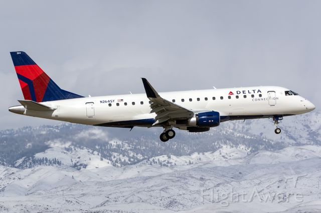 """Embraer 175 (N264SY) - The newest 175 for SkyWest on delivery. Full Quaility photo --> <a rel=""""nofollow"""" href=""""http://www.jetphotos.com/photo/8889440"""">https://www.jetphotos.com/photo/8889440</a>"""