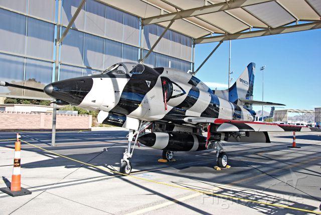 Piper PA-44 Seminole (N147AT) - N147AT McDonnell Douglas A-4L Skyhawk C/N 12532  Aviation Nation 2012  Las Vegas - Nellis AFB (LSV / KLSV) USA - Nevada, November 10, 2012 Photo: Tomas Del Coro