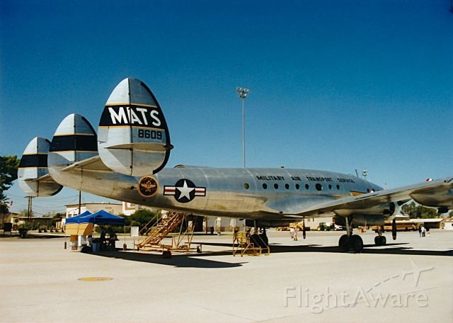 N494TW — - Connie on display at a Copperstate Fly In and Air Show