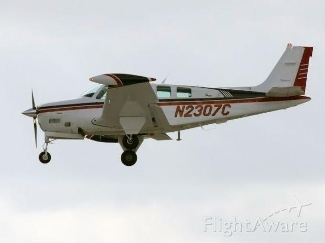 Beechcraft Bonanza (36) (N2307C) - A nice Bonanza.