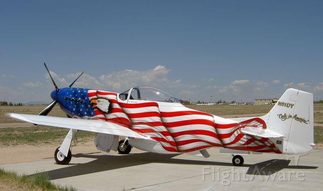 Experimental  (N51DY) - Beautiful paint job....beautiful plane!