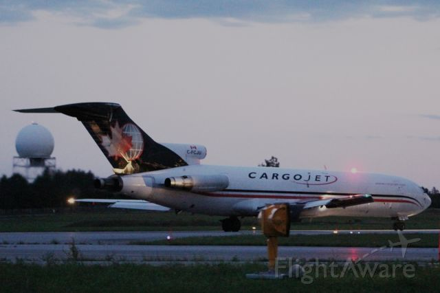 C-FCJU — - Boeing 727-200 manufactured 1981. Not many of these around anymore. 2010:08:16. 20:24