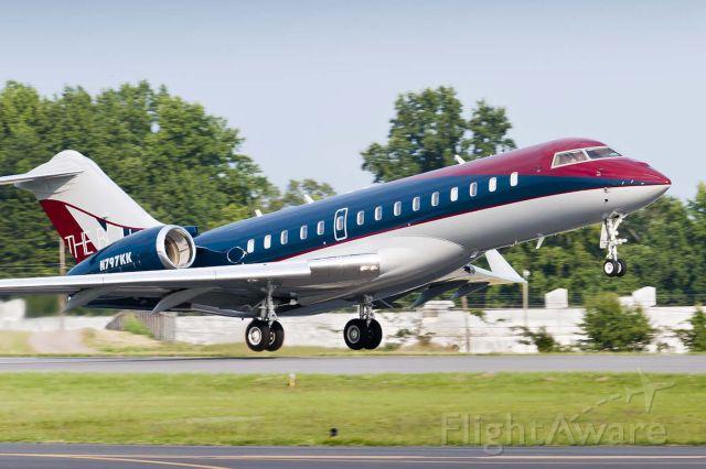 """Bombardier Global Express (N797KK) - """"The Bold Look"""" from Kohler"""