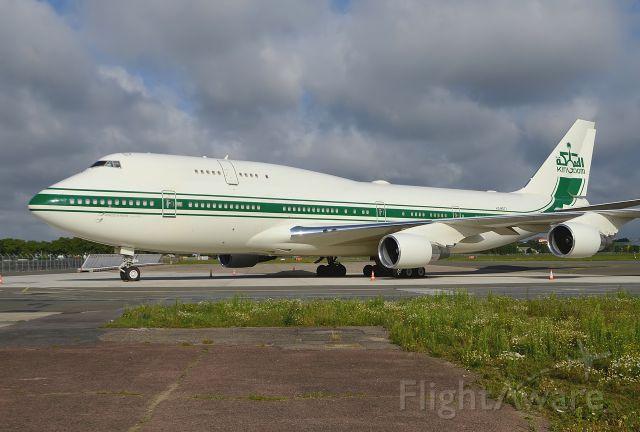 Boeing 747-400 (HZ-WBT7) - KingDom Holding<br />31/08/2014