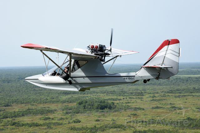 N419GC — - Aventura II flying over central Florida.