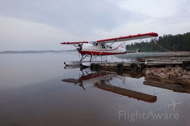 """De Havilland Canada DHC-2 Mk1 Beaver (N985DH) - Geary's Sportsman's Lodge <https: a rel=nofollow href=http://www.trophypikecanada.com=""""""""&gtwww.trophypikecanada.com="""""""">/a;; on Little Vermilion Lake, near Red Lake, ON. On a tour to Churchill, MB, <http: a rel=nofollow href=http://www.adventureseaplanes.com=""""&quotwww.adventureseaplanes.com=""""""""/a; churchill-tours="""""""">;.</http:></https:>"""