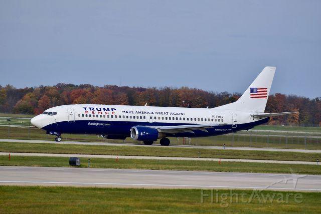 Boeing 737-700 (N752MA) - 737-400