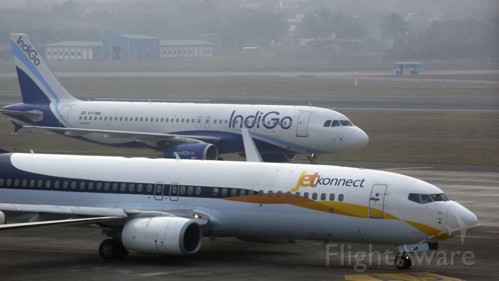 Airbus A320 (VT-INO) - IndiGo with JetKonnect