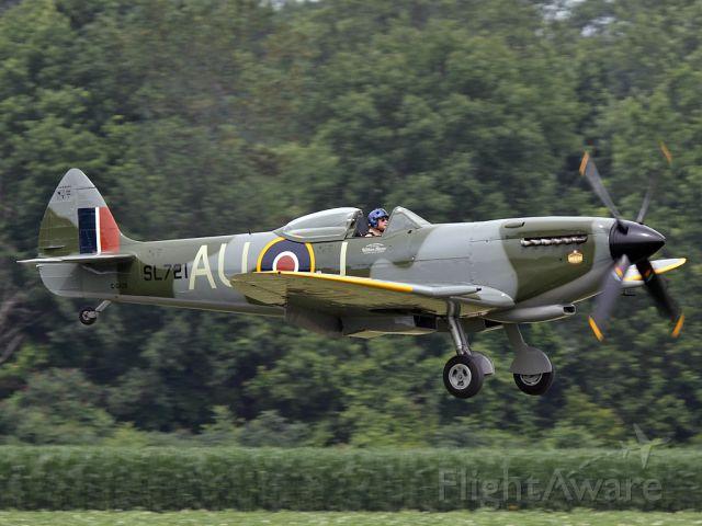 SUPERMARINE Spitfire (C-GVZB)