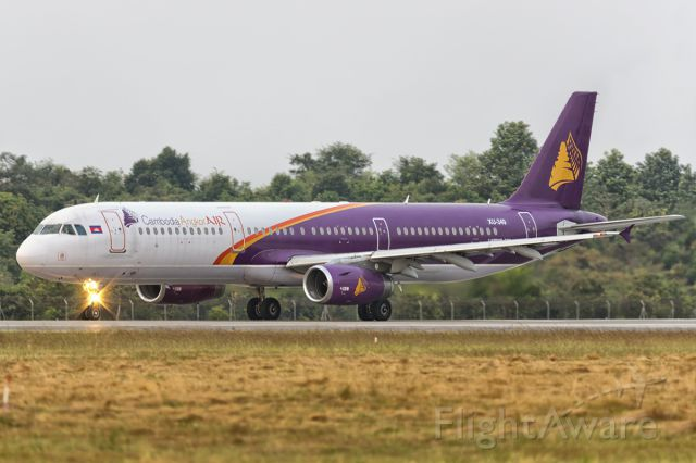 Airbus A321 (XU349) - 21st Dec., 2014