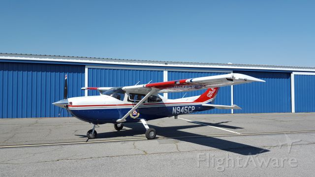 Cessna Skylane (N945CP) - Aircraft at the Hanger on the North ramp