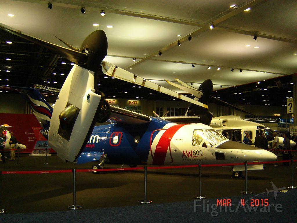 Bell BA-609 (N609TR) - B609 C/n 60001 As seen at Heli Expo 2015 Orlando, Florida