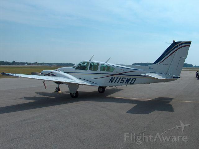 Beechcraft 55 Baron (N115WD)