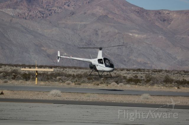 Robinson R-22 (N7039N) - At the fuel pit in California city Muni.