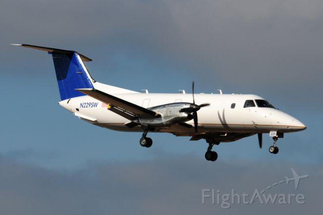 Embraer EMB-120 Brasilia (N229SW) - Berry 229 arriving from Auburn Alabama