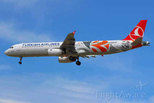 Airbus A321 (TC-JRO) - TURKISH AIRLINES AIRBUS A321-231 // TURKISH AIRLINES EUROLEAGUE LIVERY