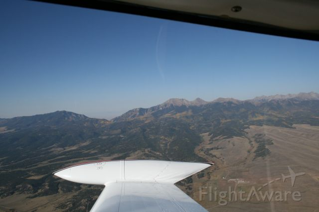 Cessna 310 (N8177M) - South of Silver Cliff Colorado
