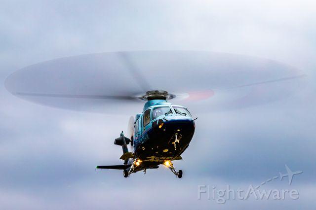 Sikorsky S-76 (N176AM) - AeroMed 1 returning to base