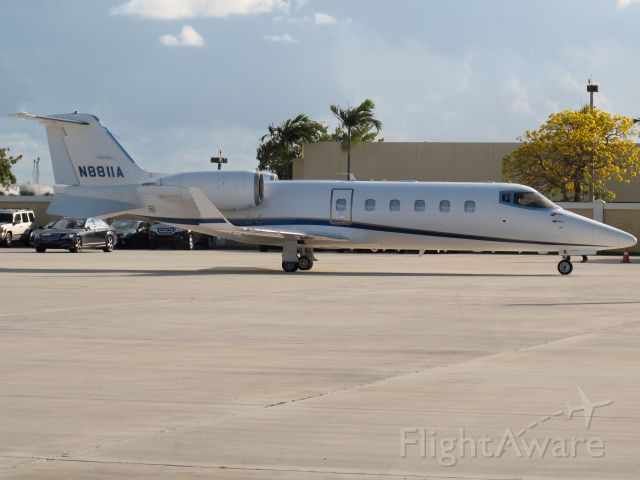 Learjet 60 (N8811A) - The most powerful Lear Jet.