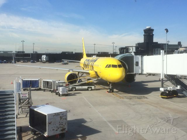 Airbus A320 (N901NK) - Spirit Airlines FIRST A320neo!!!! Baltimore Washington Airport -Mar 19 2018 Gate D8 bound for Orlandobr /And...I got to SIT in the flight deck of this plane!!! :) :) so happy ! Want to be a airline pilot someday!! :)
